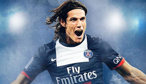 París Saint-Germain anunció el fichaje de Edinson Cavani
