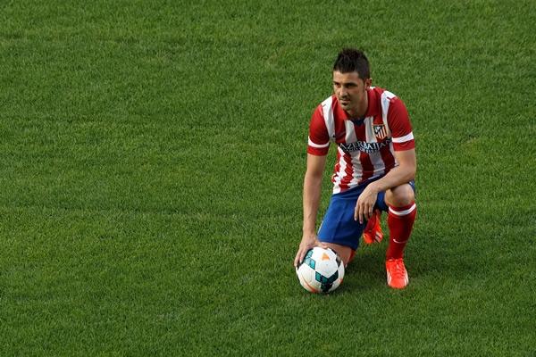 El Atlético me hizo llegar el cariño que necesitaba: David Villa