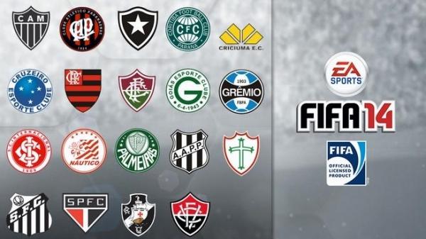 FIFA 14 vendra ahora con 19 clubes brasileños licenciados