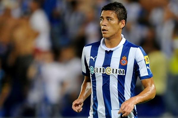 Héctor Moreno se integró con el Espanyol