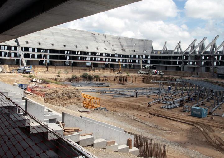 Nuevo estadio del Monterrey para junio de 2015